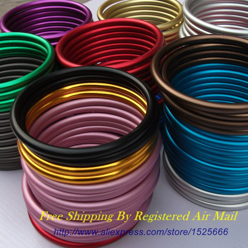 Free Shipping 10pcs 5pairs Large Size 3inch Aluminum Sling Rings with many colors for your choice