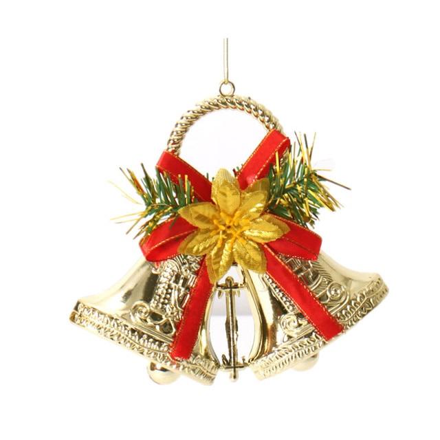 Christmas Bell Decorations Amazing Christmas Decorations Supplies15Cm Double Bell Christmas Bell Inspiration
