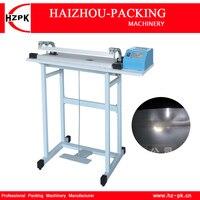 HZPK Pedalı Dürtü Isı Mühürleyen Makinesi Paketleme Makinesi Gıda Tasarrufu Ürün Çantası Sızdırmazlık plastik poşetler Dürtü Sızdırmazlık 400mm SF-400