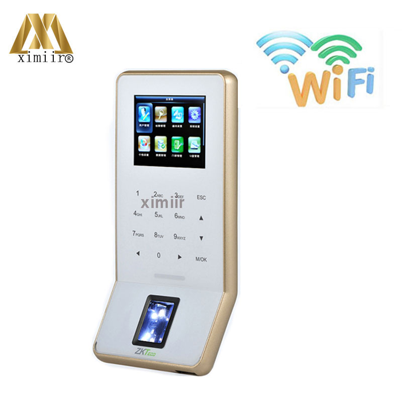 Biometric Fingerprint Time Attendance And Access Control System With  TCP/IP F22 Finger Print Door Lock