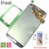 IFEEL 100 Tested Working LCD Display Touch Screen Digitizer Repair For Samsung Galaxy S4 I9500 I9505