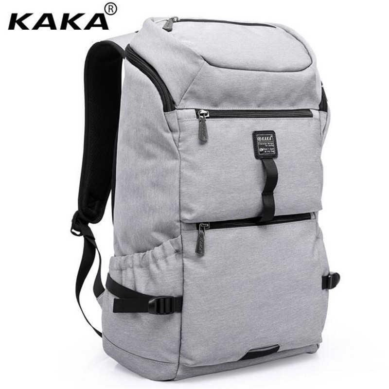 Водонепроницаемый большой Ёмкость 16 дюймов ноутбук сумка человек рюкзак мешок черный рюкзак для женщин Школьные ранцы Mochila masculina x921