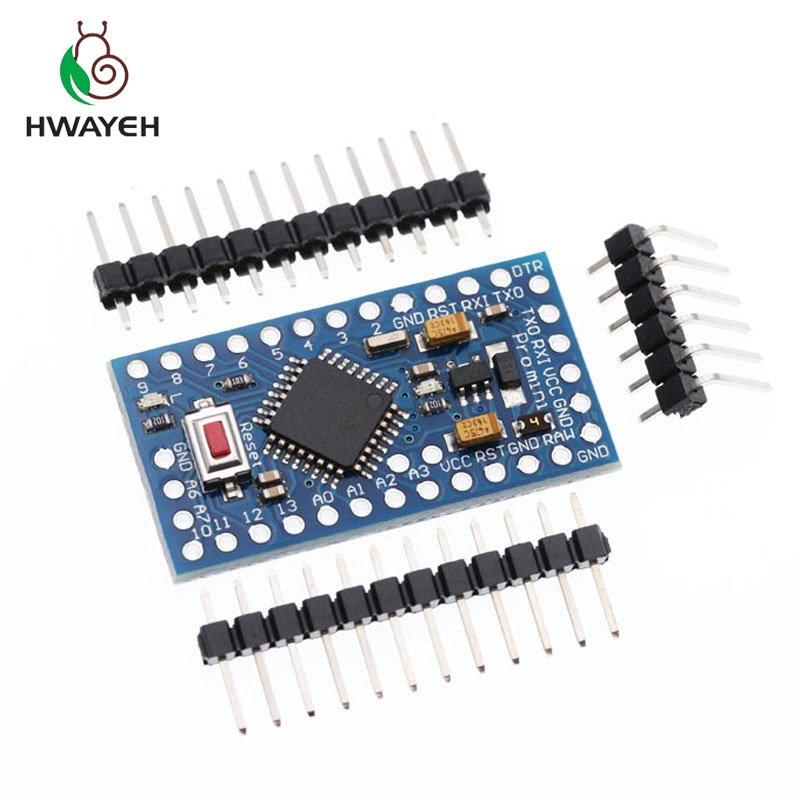 1pcs/lot New pro mini 328 electronic building blocks Interactive Media ATMEGA328P 5V/16M Compatible Nano for arduino