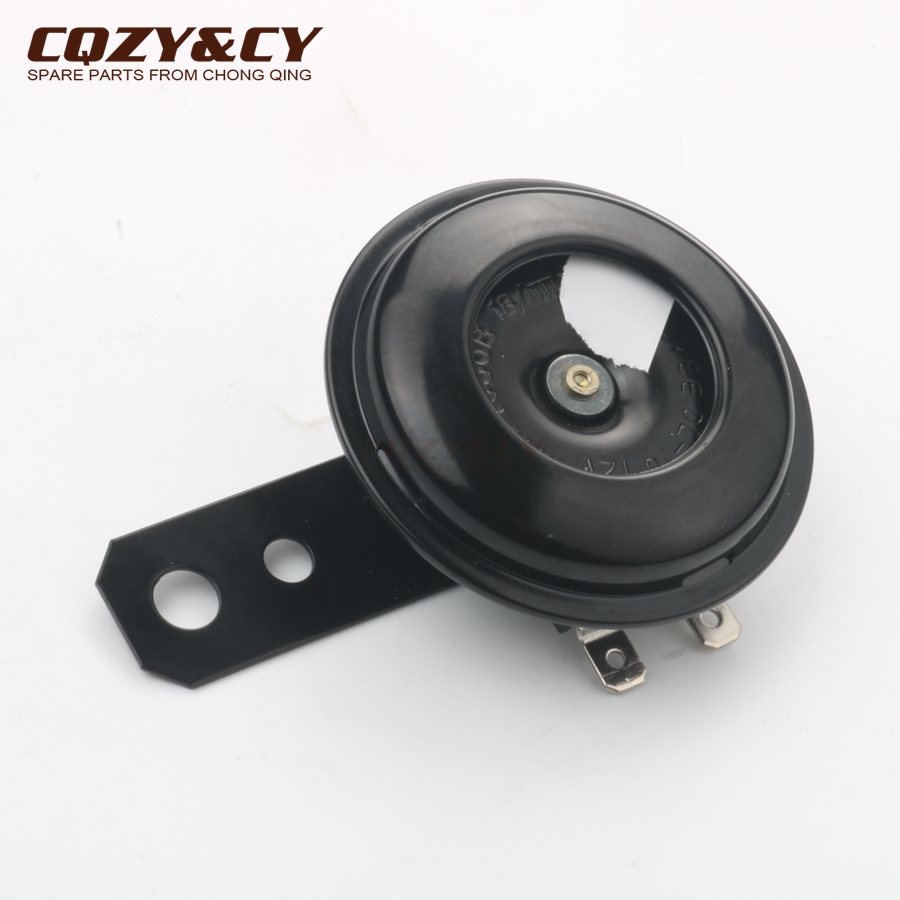Черный 12 V рог для peugeot V-Clic 50cc 4-ход