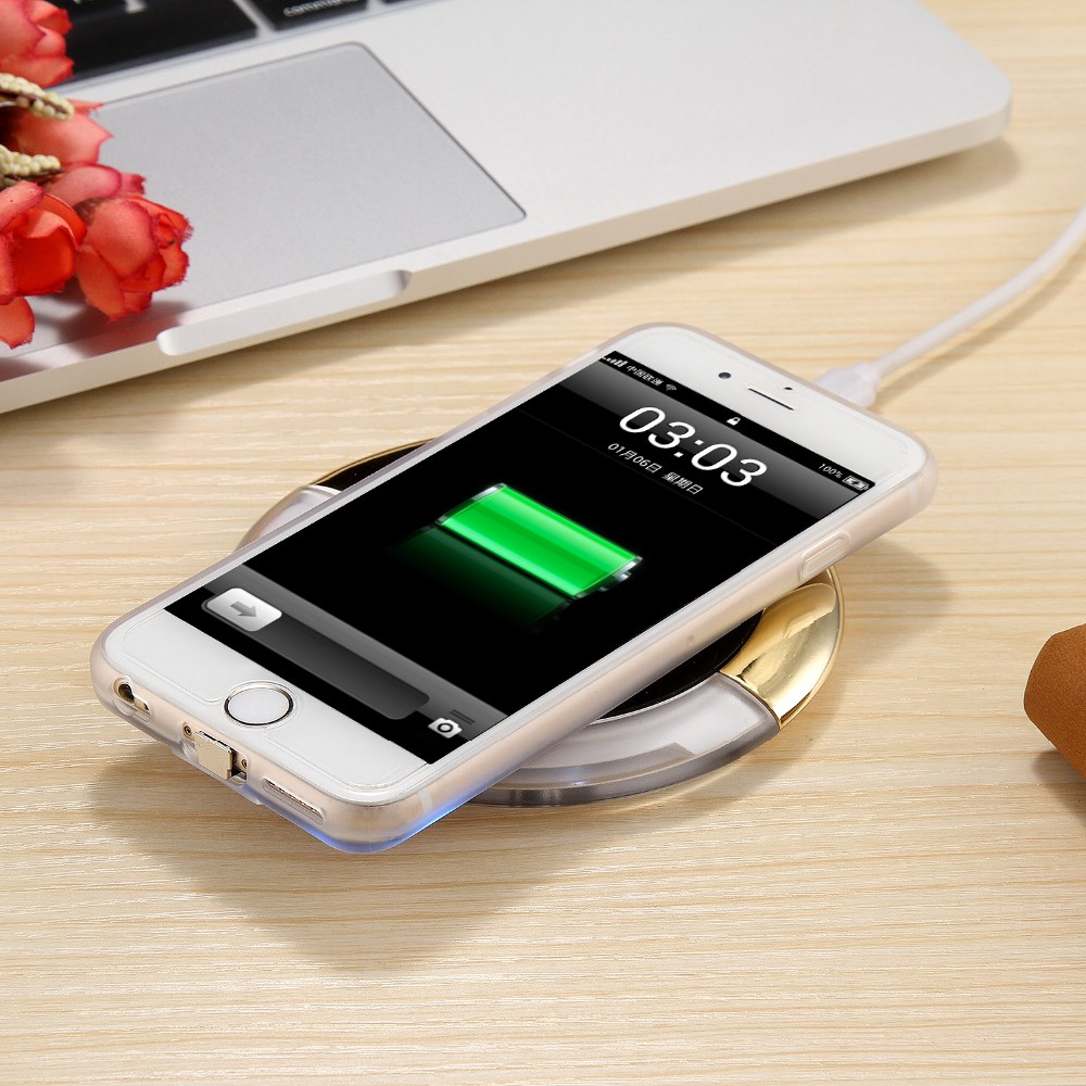 WL027 Wireless Charging Pad Qi Wireless Charger (14)