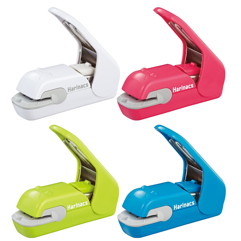 KOKUYO Harinacs Staple-Free Stapler Press Type Embossing Needleless Mini Stapler No Punching Labor Saving For Office, Student