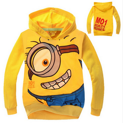 92700dd68 Retail 2016 New Arrival Child Boys girls Hoodies despicable me ...