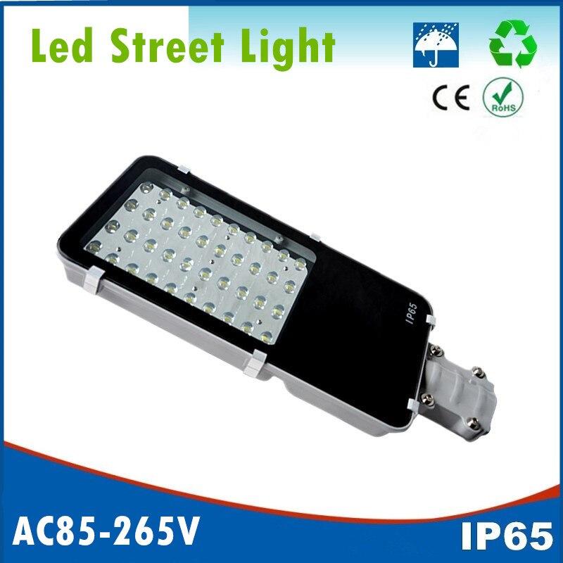 12W 24W 40W 50W 80W 100W LED Street Lights Road Lamp waterproof IP65 led lighting 130 140lm/w AC85 265V led street light