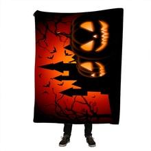 Halloween Throw Blanket Turquoise Ethnic Indian Red Sherpa Fleece Super Soft Cozy Velvet Plush