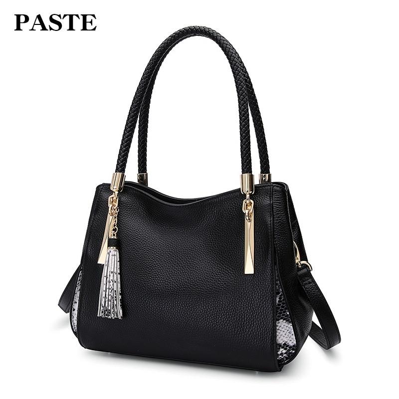 Genuine Leather Bag Female Luxury Handbags Women 7P1128 best in the market FREE SHIPPING