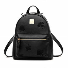 Крутой Уокер новая мода высокое качество разработан бренд рюкзак Для женщин рюкзак кожаный мешок школы Для женщин Повседневное Стиль небольшой рюкзак