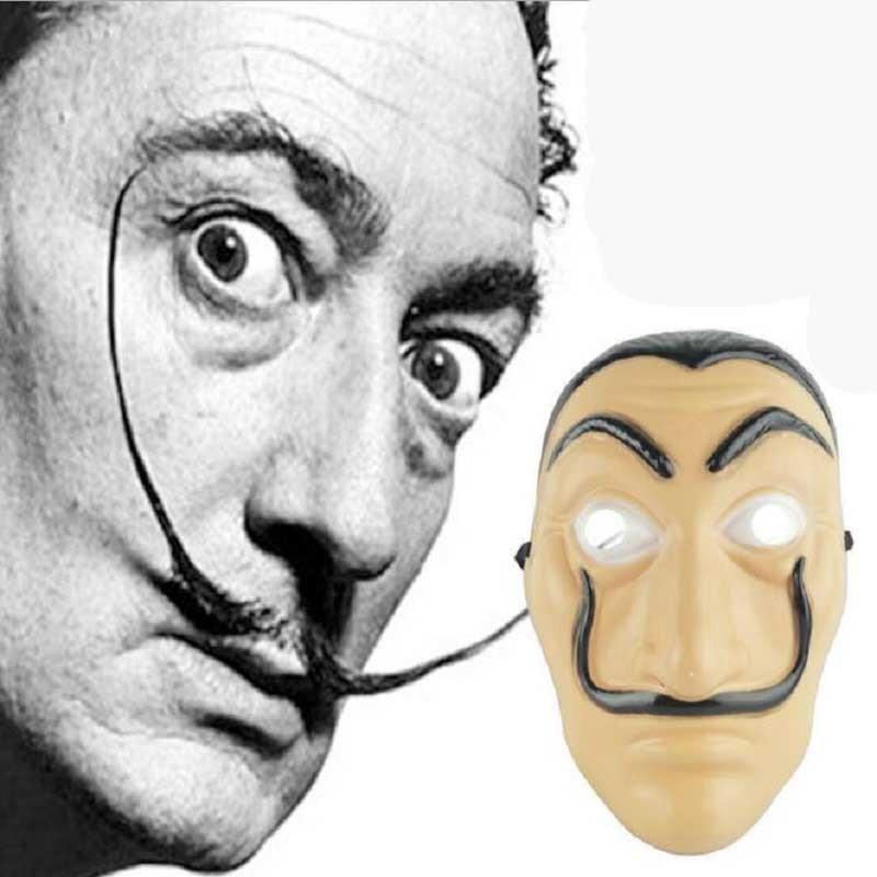 la casa de papel mask action figure toy house of paper money heist mascara jouet halloween party