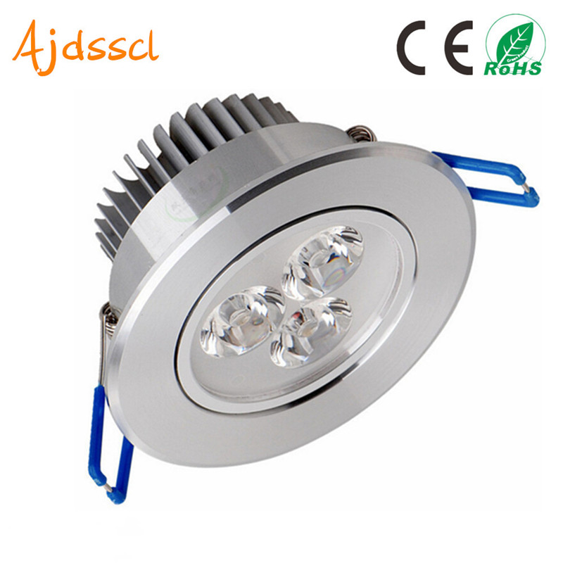 LED Spot LED Downlight Dimmable Bright Recessed 6W 9W 12W 15W 21W  LED Spot Light Decoration Ceiling Lamp AC 110V 220V AC85-26V