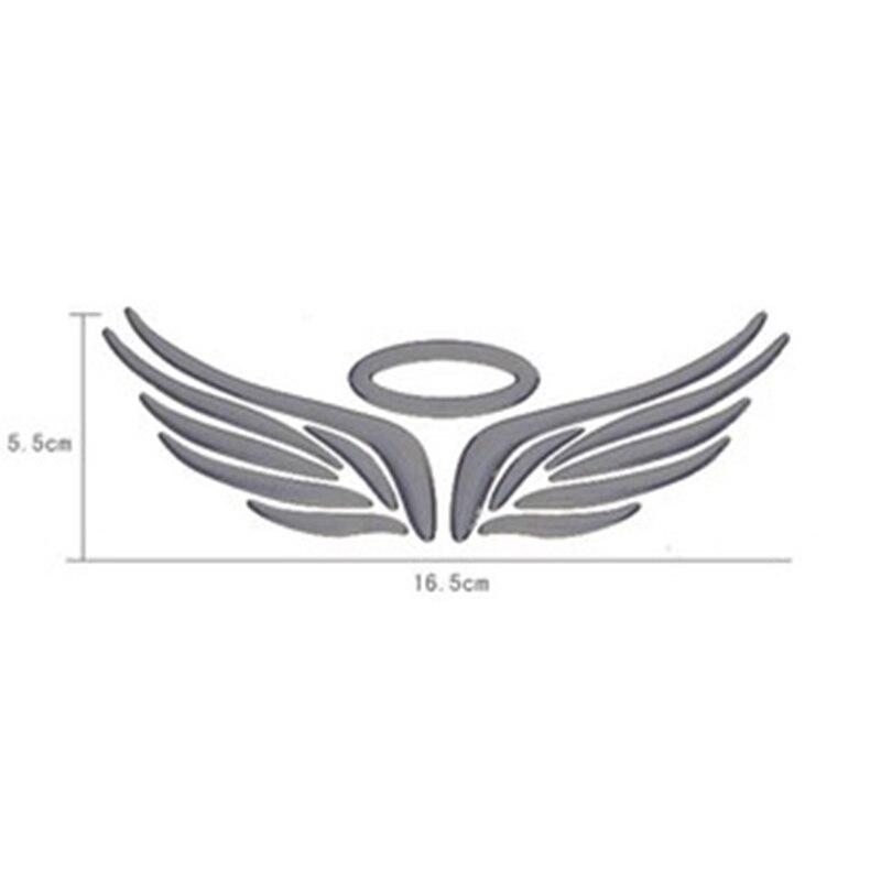 3D ангельские крылья феи Авто Грузовик Логотип эмблема значок Наклейки для декора автомобиля стикер s