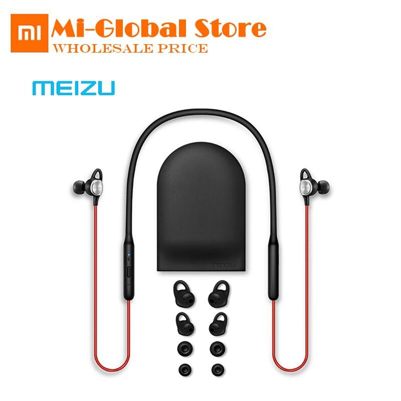 Original Meizu EP52 Drahtlose Bluetooth 4,1 Kopfhörer Stereo Sport Headset IPX5 Wasserdicht Mit MIC Unterstützung Apt-X