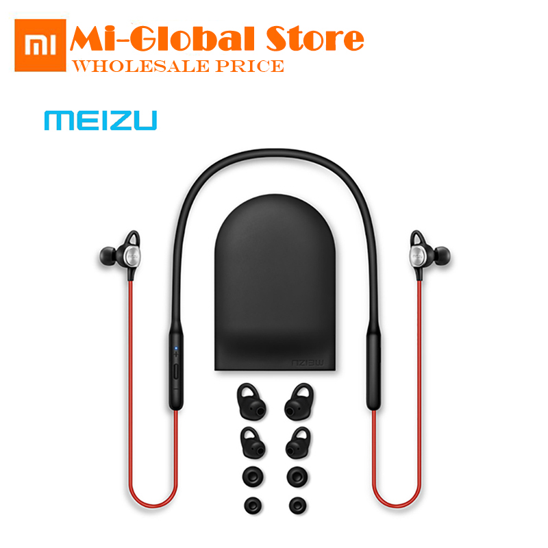 все цены на Original Meizu EP52 Wireless Bluetooth 4.1 Earphone Stereo Sport Headset IPX5 Waterproof With MIC Supporting Apt-X онлайн