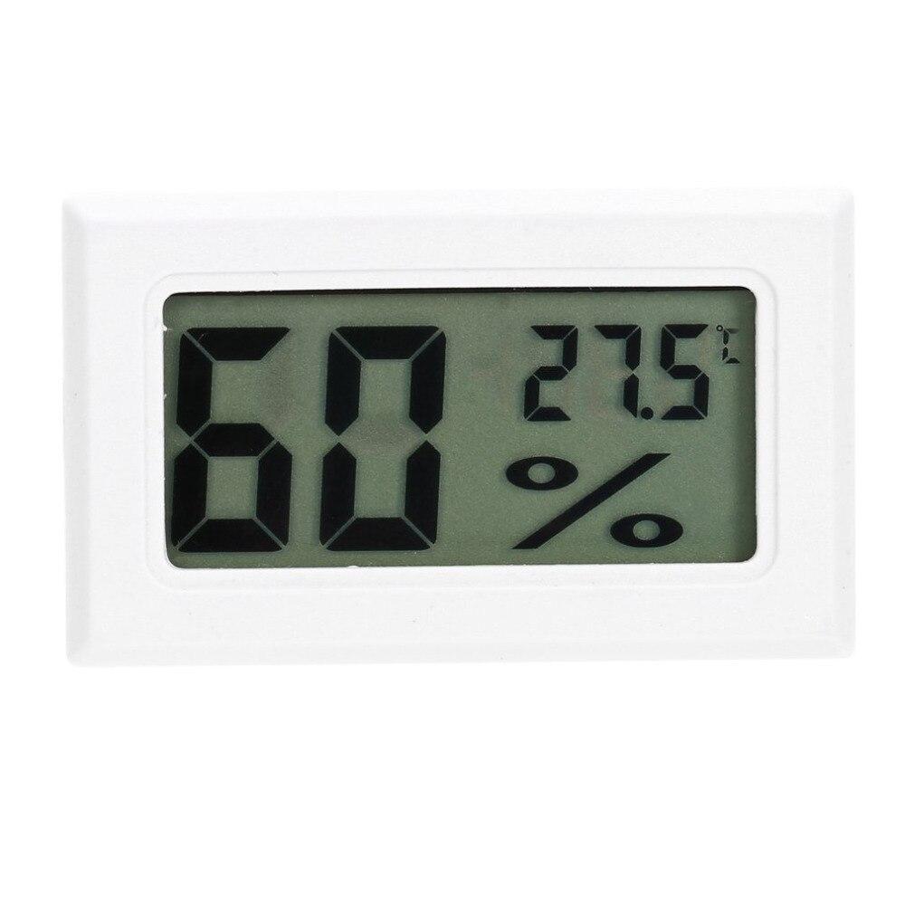 Professzionális mini digitális LCD hőmérő, nedvességmérő, páratartalom hőmérséklet-mérő, beltéri digitális LCD-érzékelő, 2017 legnépszerűbb termékek