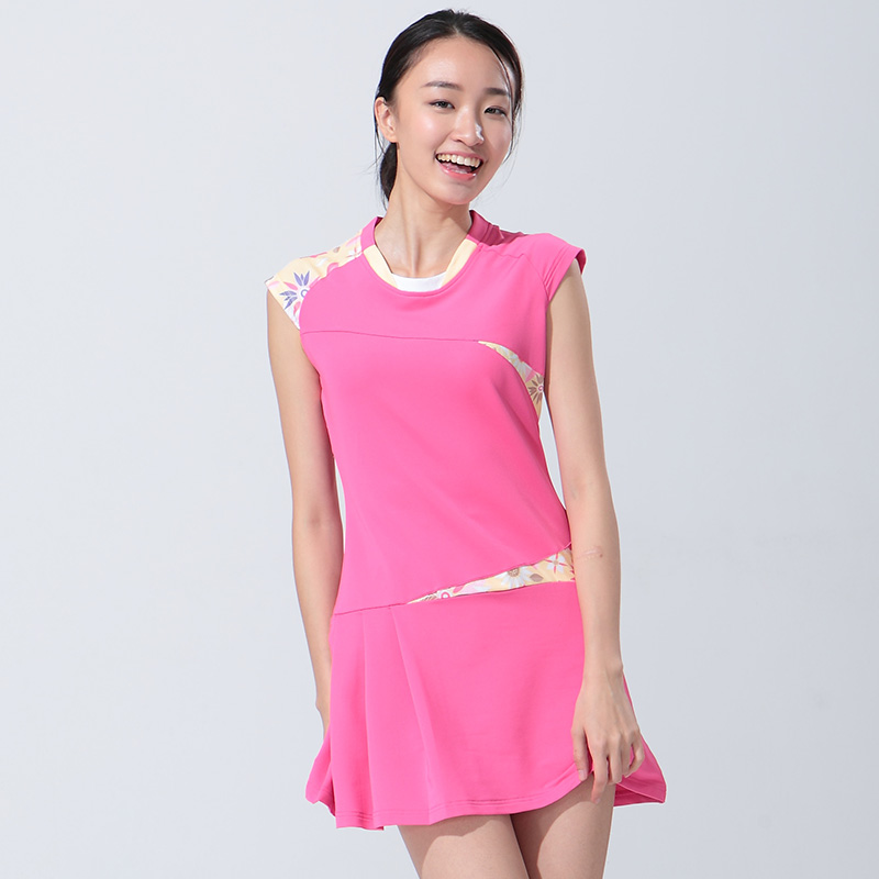 Фотография Badminton Clothing Female Summer Dress Tennis Sports Dress Badminton Dress with Short Pants