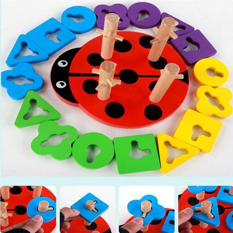 Baby Brain Development Toys Montessori Match Toy Geometric -5018