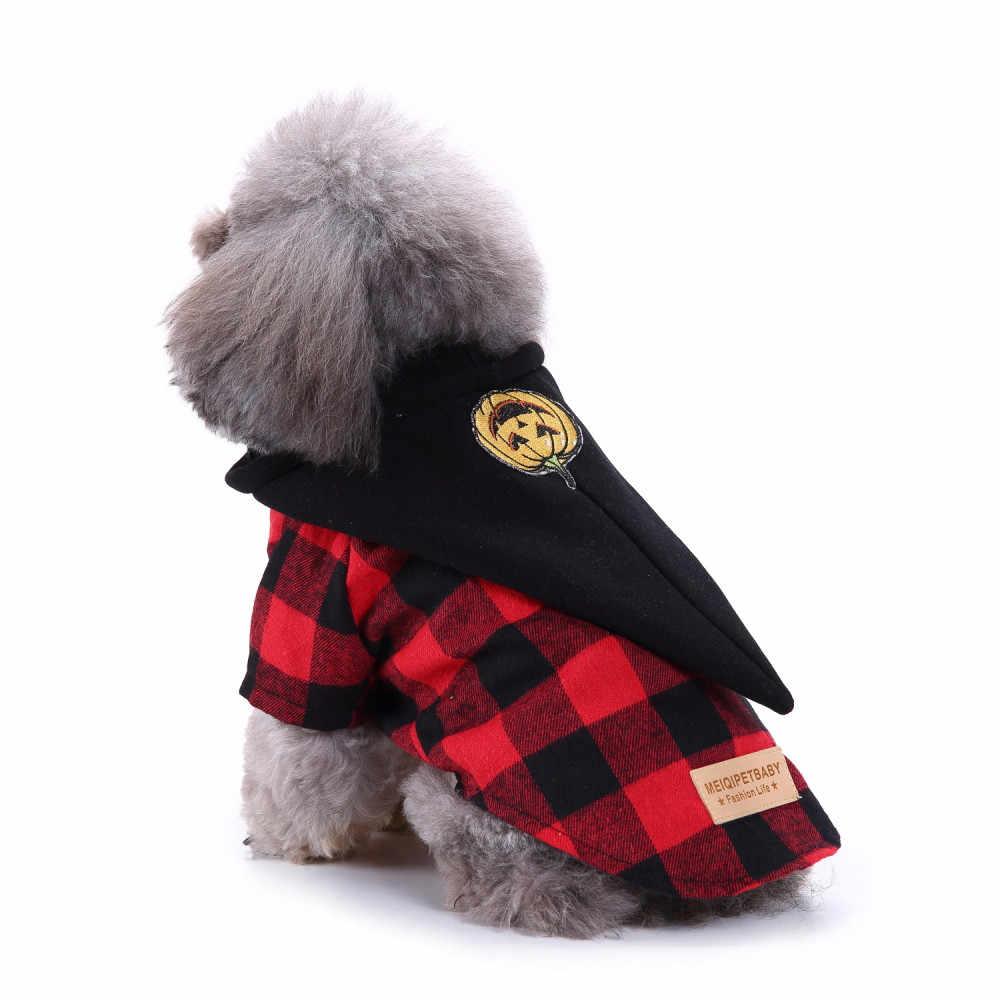 Thời trang Cho Thú Cưng Chó bluza dla PSA Thú Cưng Trang Phục Kẻ Sọc phối Quần Áo Chó Con Chó May Mặc Quần Áo moletom Masculino Com capuz