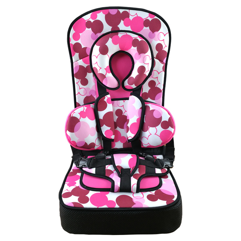 Adjustable Booster Portable Safety Seat For 2~12Y Children Kids Universal Protection Sitting Mat For Infant Baby Chair Cushions