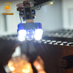 Image 2 - LIGHTAILING LED Light Kit For 10188 Star War Series Death Star Building Blocks Light Set Compatible With 05035 35000 81037