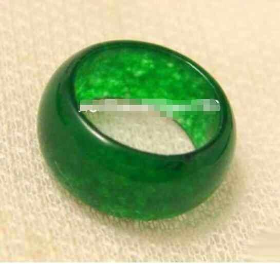 ร้อนขายรูปแบบใหม่>>>>สวยสีเขียวหยกหินขนาด: 7. 8. 9
