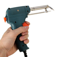 Brand New 220V 60W Automatic Send Tin Soldering Iron Gun Solder Stand AC Welding Tool Wholesale
