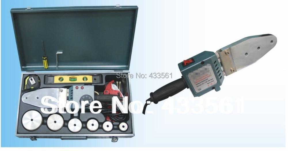HDPE / PPR / PP / PVCパイプ継手ソケットフュージョンコネクタポジショナー用ポータブル溶接テーブルマシン/ソケットフュージョンDN20-DN63