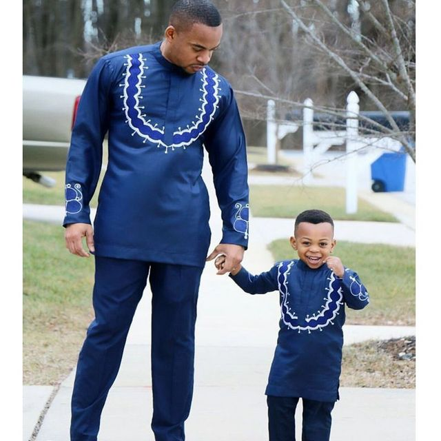 H Amp D Autumn African Parent Kid Clothes Fashion Embroidery