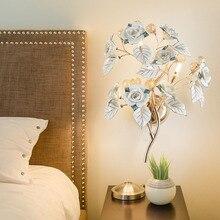 Европейский стиль, настенный светильник для спальни, прикроватный светильник, настенные лампы, светодиодный светильник в форме свечи, хрустальный светильник для гостиной, фоновое освещение, бра для стены в гостинице