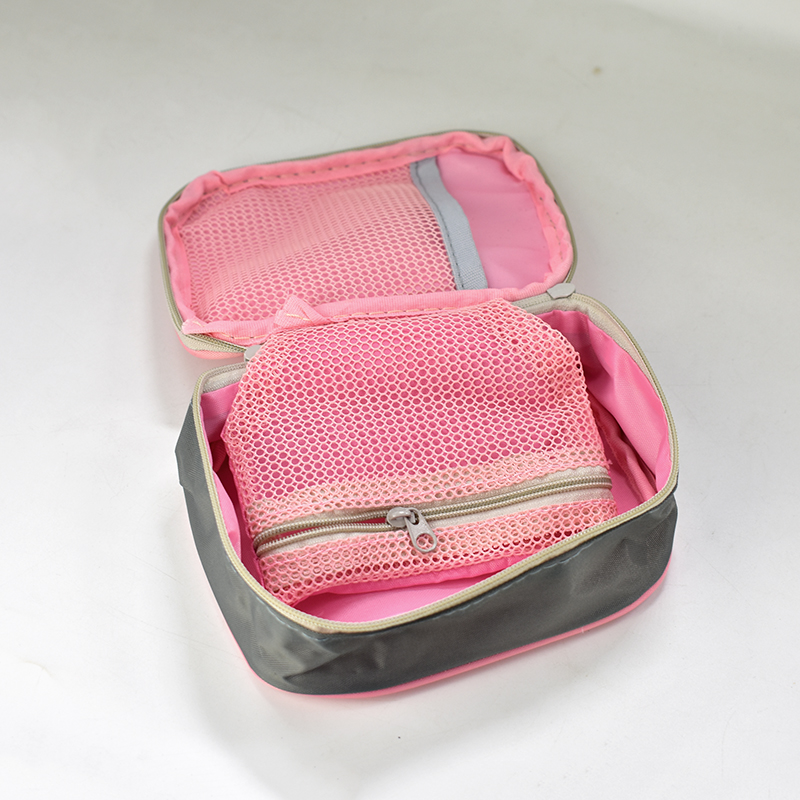 DSC_0012  Emergency Kits 13*10*4cm Mini Moveable Drugs Storage Bag First Support Medical Kits Organizer Out of doors Family Bag Pink Gray HTB12vNibBfM8KJjSZFOq6xr5XXa8