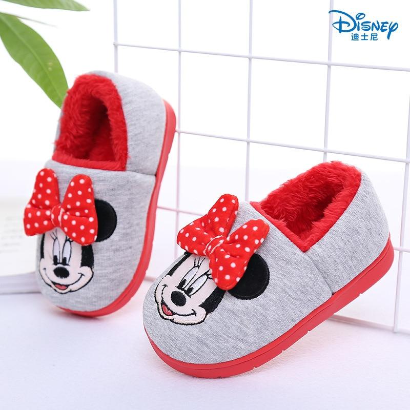 Disney mickey minnie 2019 outono inverno sapatos