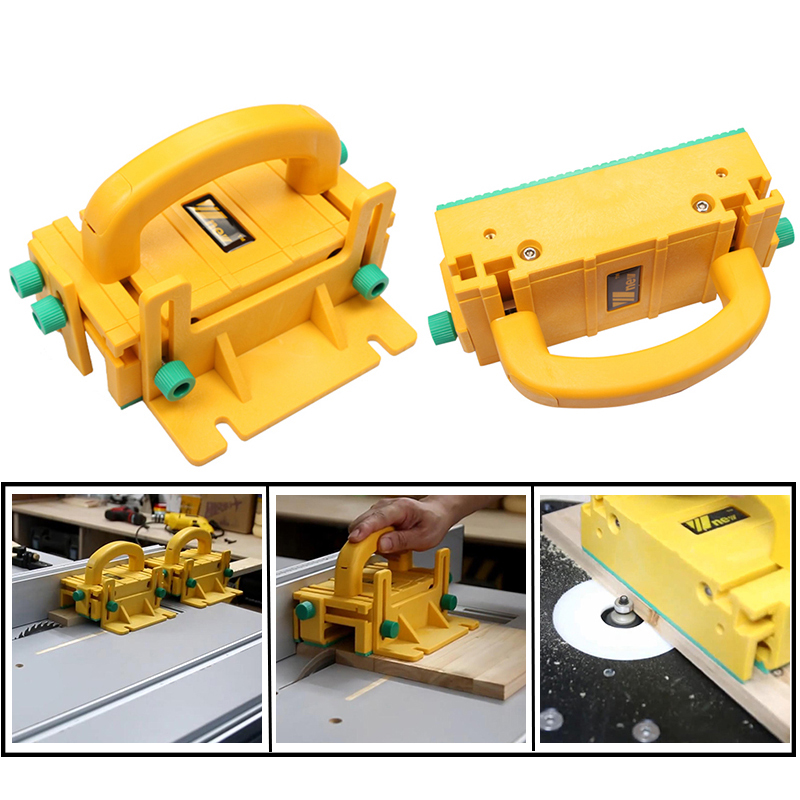 3D Safety Pusher Flipping Table Band Saw Woodworking Tools Multifunctional Woodworking DIY Tools