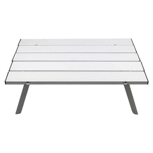 Mesa portátil dobrável de liga de alumínio, móveis para acampamento, caminhadas, mesa, piquenique ao ar livre