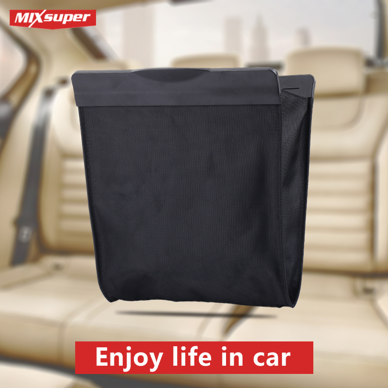 E-FOUR Car Seat Organizer Universal Back Seat Storage Bag Stowing Tidying Backseat Trunk Box Pockets Protector Car Accessories