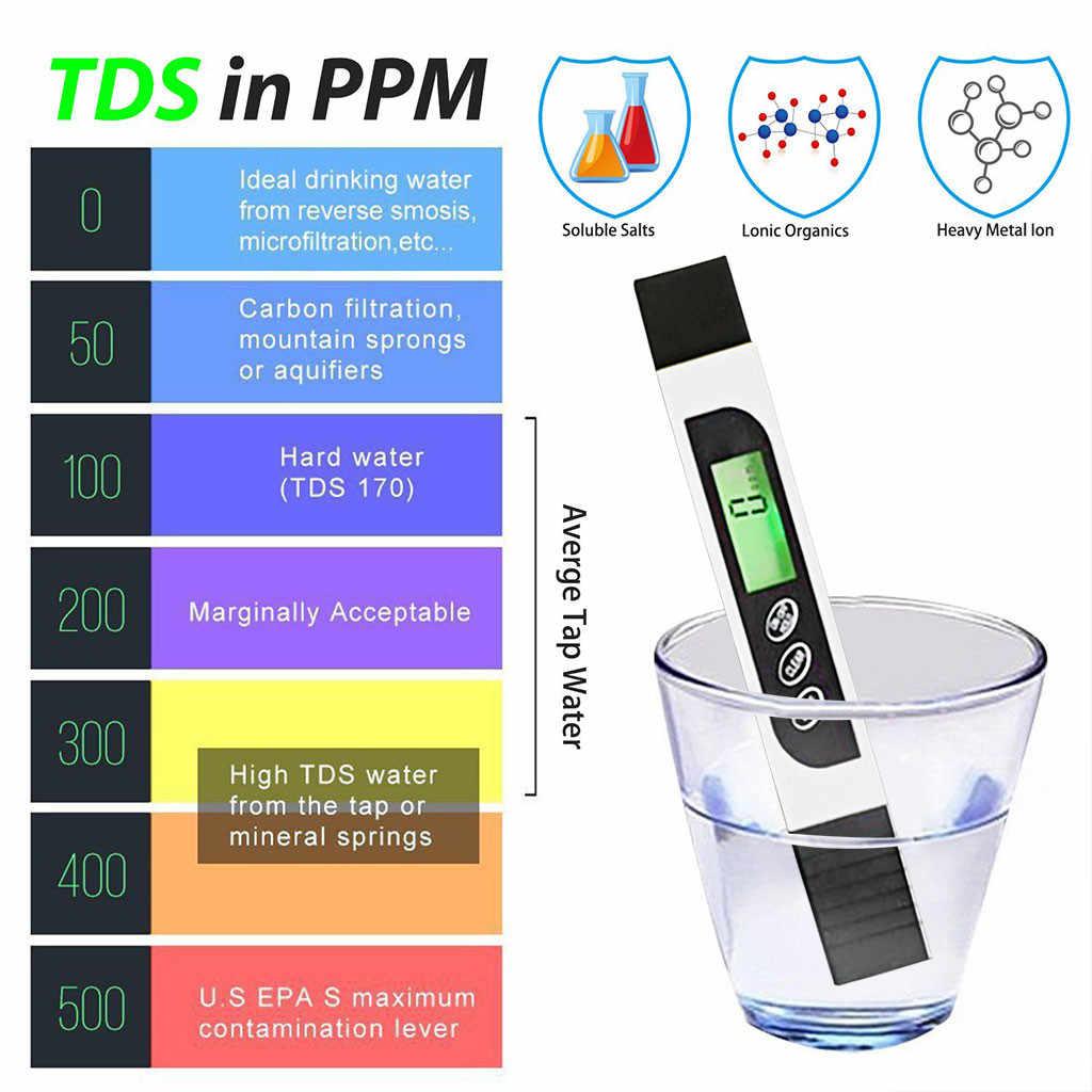 דיוק TDS מד דיגיטלי מים מים באיכות בוחן אידיאלי מים בדיקת מד איכות מים בודק אקווריום אבזרים