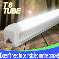 Leeyarlam 1 Pcs LED T8 tube 10w 562mm 180v-265v free shipping 2ft wholesales price high quality LED bulb Lamp Lighting