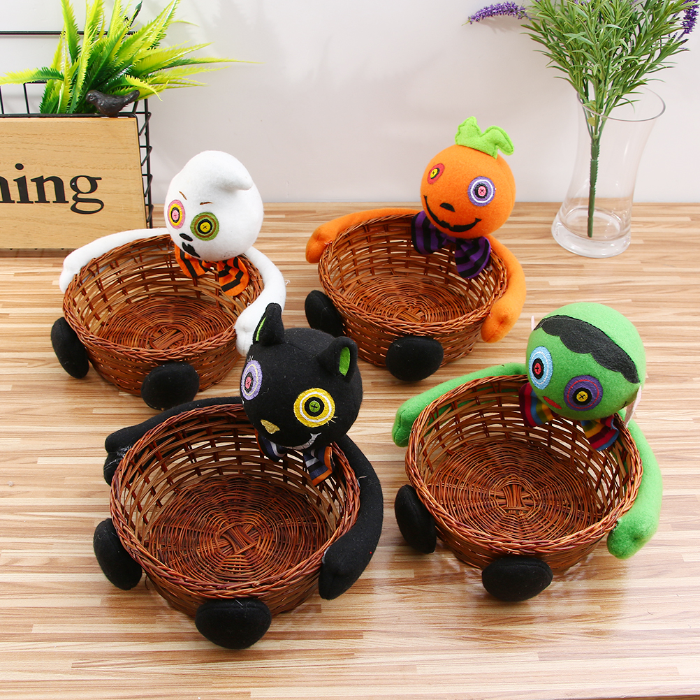 compare prices on decorative fruit baskets online shoppingbuy  - fruit candy storage basket bar ktv halloween decorative doll ornamentsspecial decration for halloween