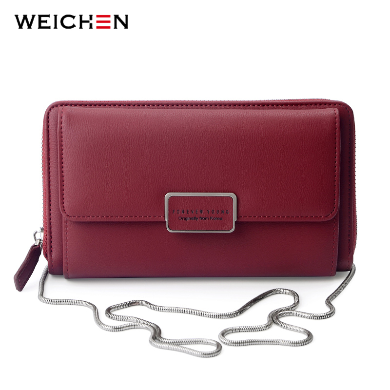 WEICHEN Women Mini Crossbody Bag Chain Ladies Shoulder Bags Small Female Handbag Messenger Bolsa Multi-Function Clutch Purse цена