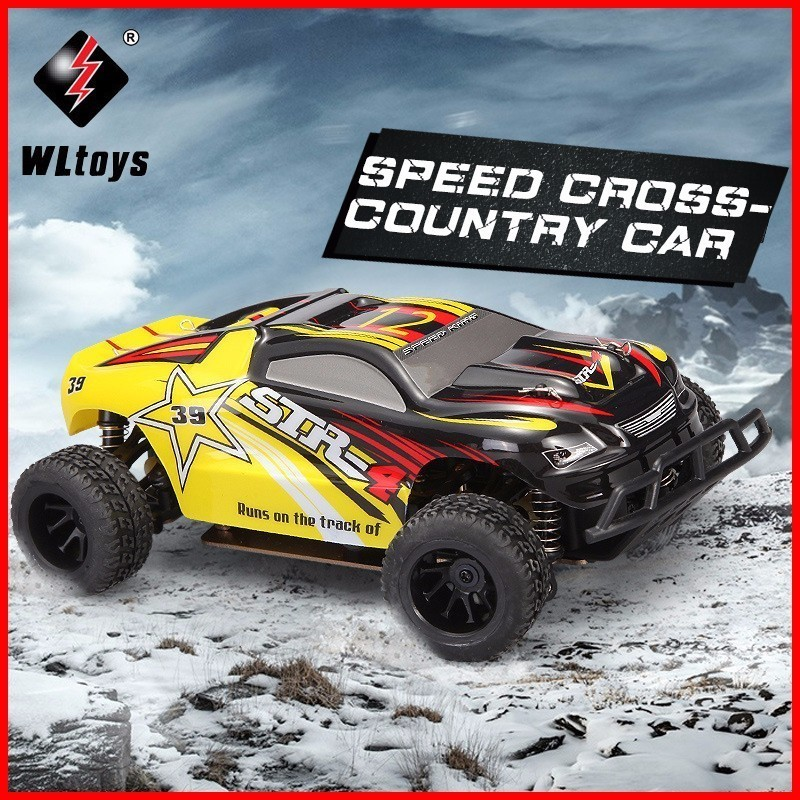WLtoys A222 A232 1/24 2.4G 4WD Brushed RC Racing Car High Speed Remote Control Cars Hight Speed Racing Car With Transmitter