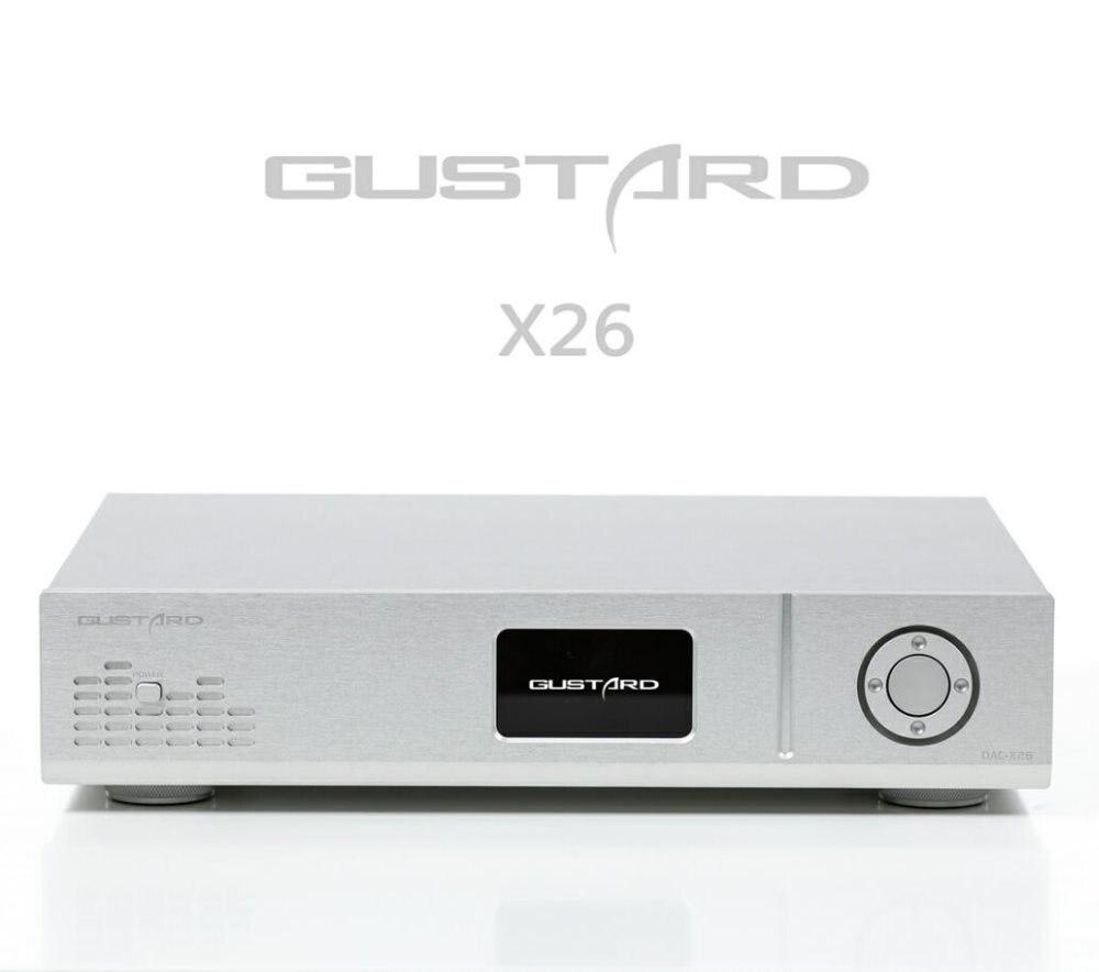 Gustard Dac-x26 Dac Dual Es9038pro Dsp Pll Native Ausgewogene Decoder Usb/koaxial/optischen Eingang Rca/ausgewogene Ausgang Hitze Und Durst Lindern. Digital-analog-wandler