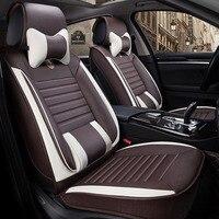 Универсальный кожаные сиденья автомобиля чехлы на сиденья для Nissan Sylphy G11 B16 B17 марта Паладин Micra K13 TIIDA C11 C12 c13