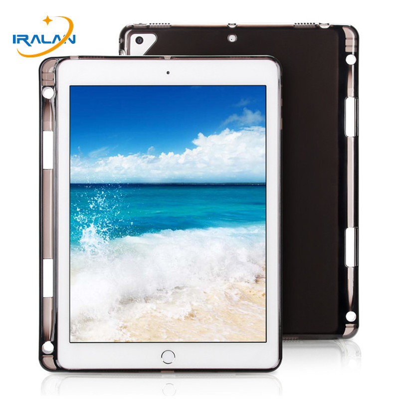 Newest Ultra Slim Lightweight TPU Soft Clear Transparent Cover Case For Apple iPad Pro 10.5 2017 A1701 A1709 With Pencil HolderNewest Ultra Slim Lightweight TPU Soft Clear Transparent Cover Case For Apple iPad Pro 10.5 2017 A1701 A1709 With Pencil Holder