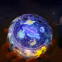 LED Night Light starry sky Magic Star Moon Planet Projector Lamp Cosmos Universe Luminaria Baby children's For Birthday Gift