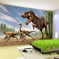 Beibehang Papier Peint Wallpaper For Walls 3 D Custom Wallpaper 3D Dinosaur Backdrop Decorative Painting 3d