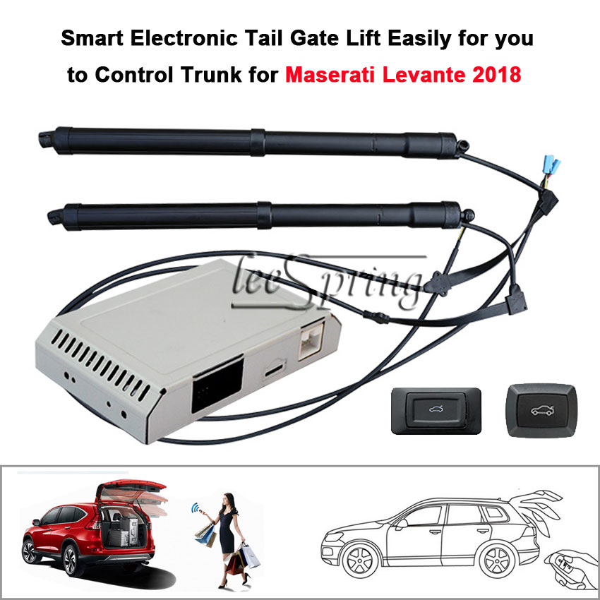 Smart Auto Electric Tail Gate Lift Special For  Maserati Levante 2018 With Suction