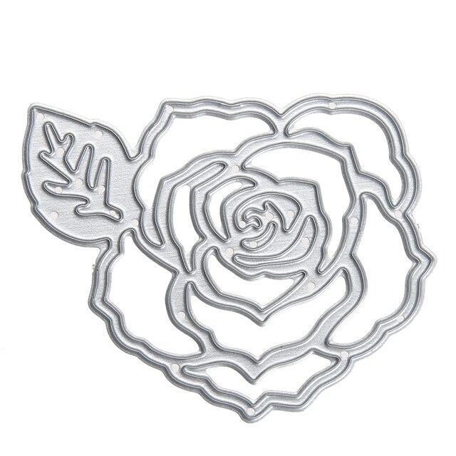metal diy cutting dies flower scrapbooking album decoration die