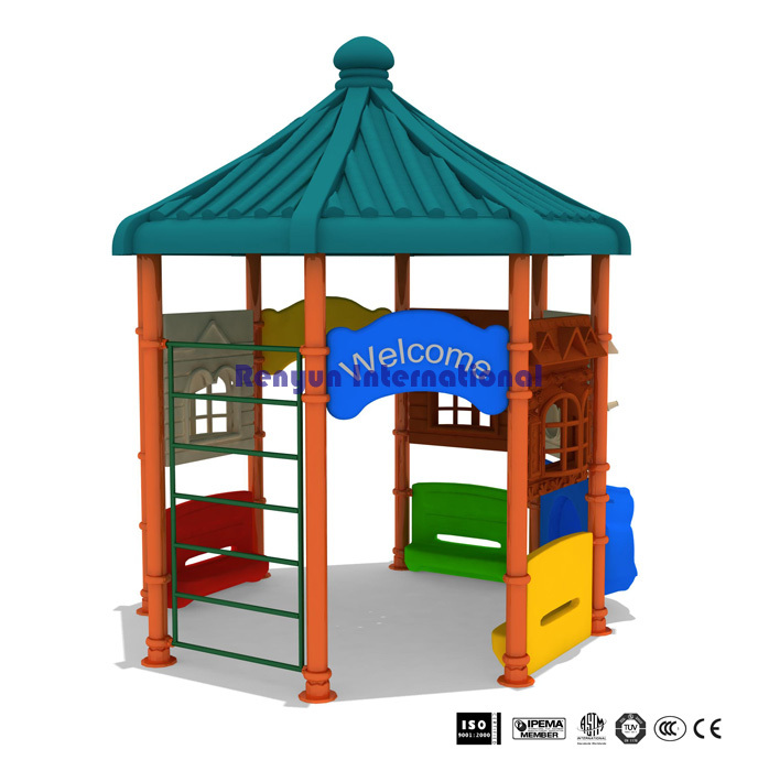 Ryt 008 Children Playground Amut Park Kids Outdoor Play Equipment Plastic Toys Pavilion