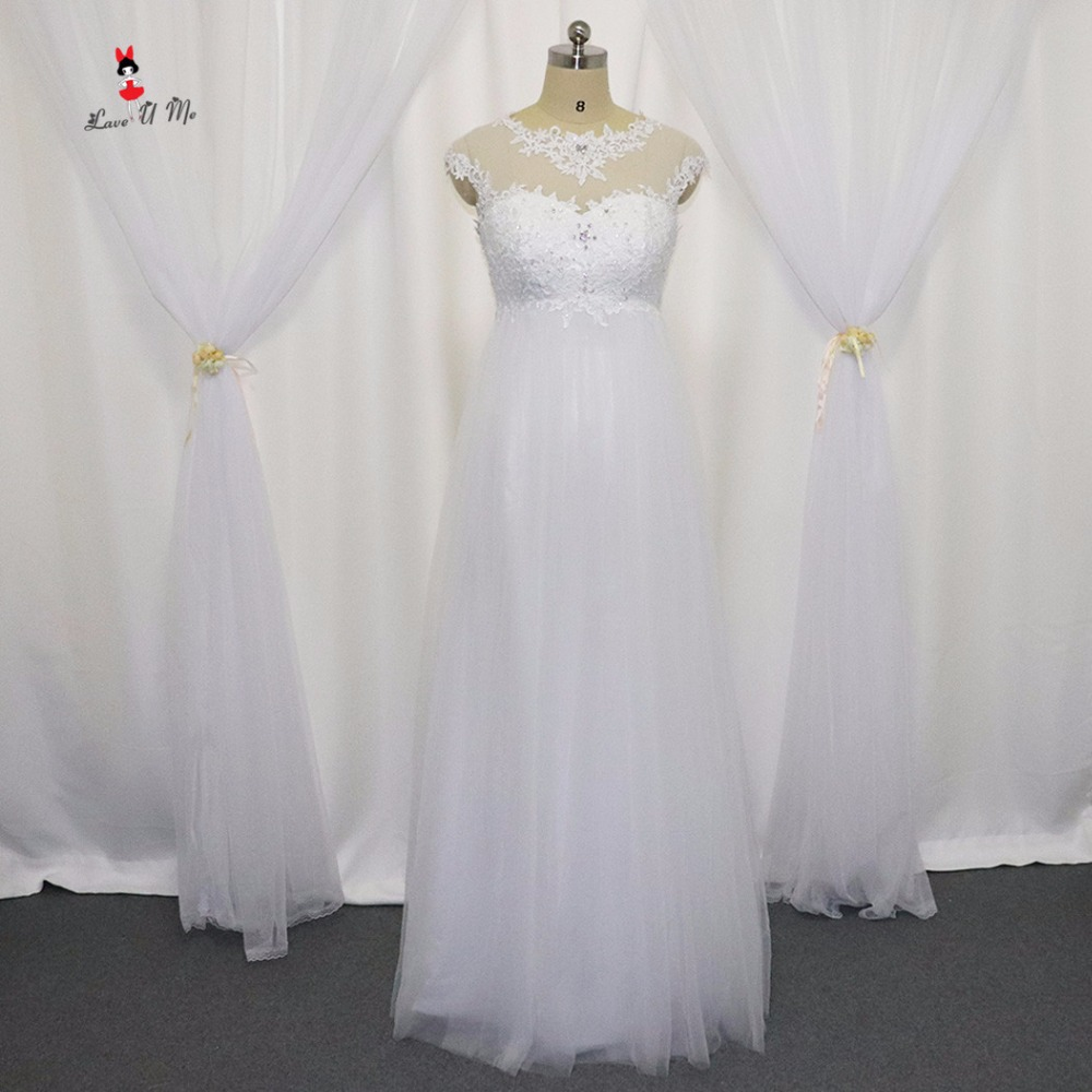 Affordable Maternity Wedding Gowns: Plus Size Maternity Wedding Dress Cheap Lace Bride Dresses